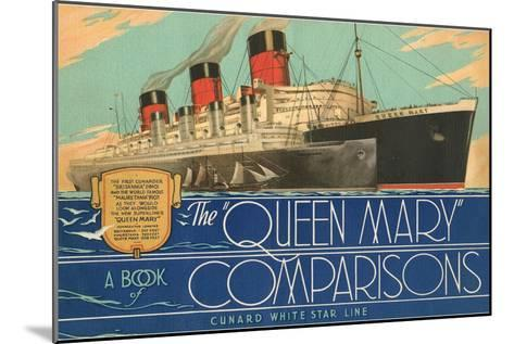 Queen Mary Book of Comparisons--Mounted Art Print