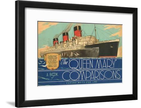 Queen Mary Book of Comparisons--Framed Art Print