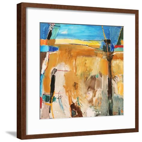 Vision-Falah Al Ani-Framed Art Print
