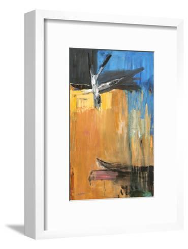 Passage-Falah Al Ani-Framed Art Print