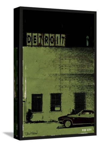 Vice City-Detroit--Stretched Canvas Print