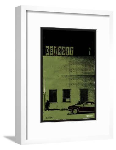 Vice City-Detroit--Framed Art Print