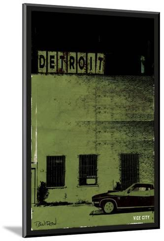 Vice City-Detroit--Mounted Art Print