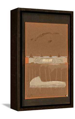 Book Cover 21-Qasim Sabti-Framed Canvas Print