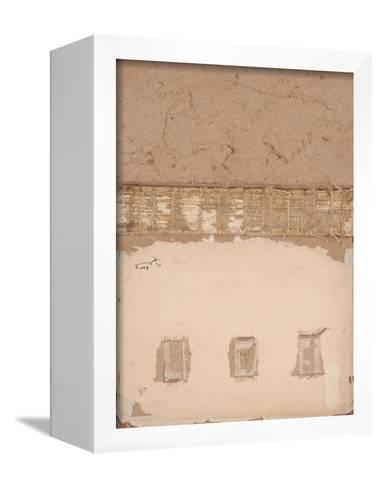 Book Cover 50-Qasim Sabti-Framed Canvas Print