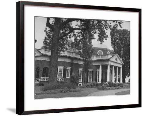 Thomas Jefferson's Home, Monticello, 1770's--Framed Art Print