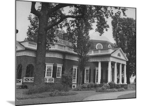 Thomas Jefferson's Home, Monticello, 1770's--Mounted Photographic Print
