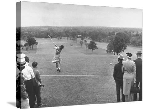 Women's NationalAmateur Golf Tournament--Stretched Canvas Print
