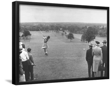 Women's NationalAmateur Golf Tournament--Framed Art Print
