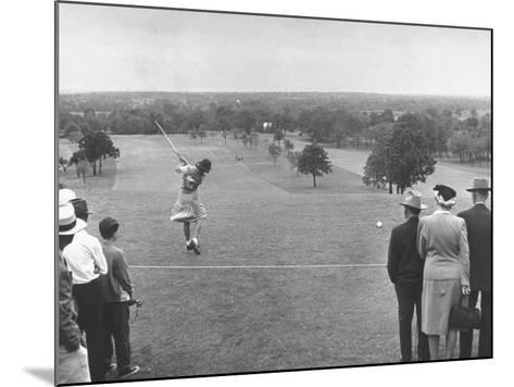 Women's NationalAmateur Golf Tournament--Mounted Photographic Print
