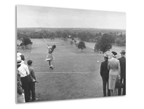 Women's NationalAmateur Golf Tournament--Metal Print