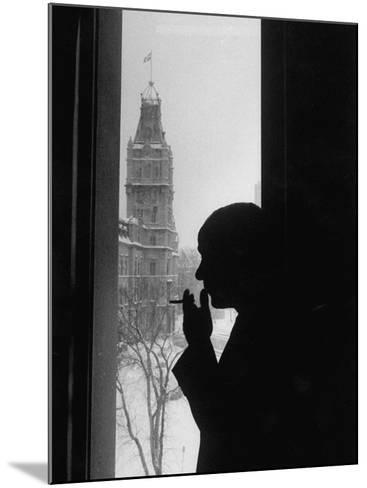 Premier Rene Levesque--Mounted Photographic Print