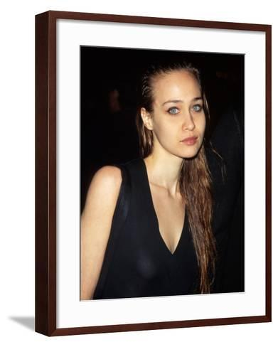 Singer Fiona Apple--Framed Art Print