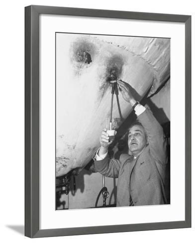 Brewery Manager Jacques Wante, Who Plays Crusader Thierry of Alsace in Bruges Pageant--Framed Art Print