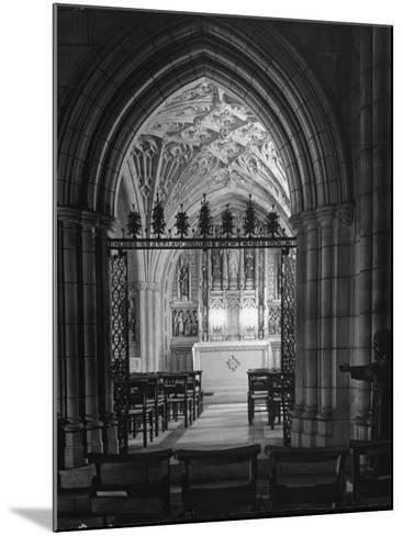 Interior View of the National Cathedral--Mounted Photographic Print