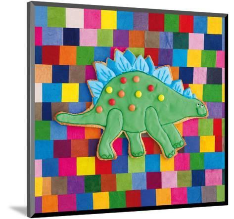 Stiggle Stegosaurus-Howard and Lauren Shooter and Floodgate-Mounted Giclee Print
