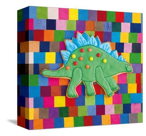 Stiggle Stegosaurus-Howard and Lauren Shooter and Floodgate-Stretched Canvas Print