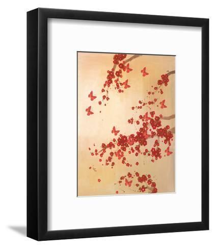 Butterflies & Blossoms-Lily Greenwood-Framed Art Print