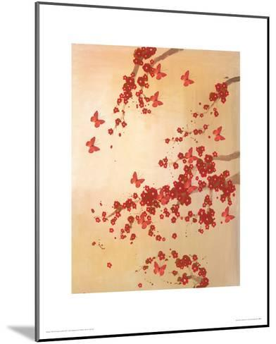 Butterflies & Blossoms-Lily Greenwood-Mounted Giclee Print