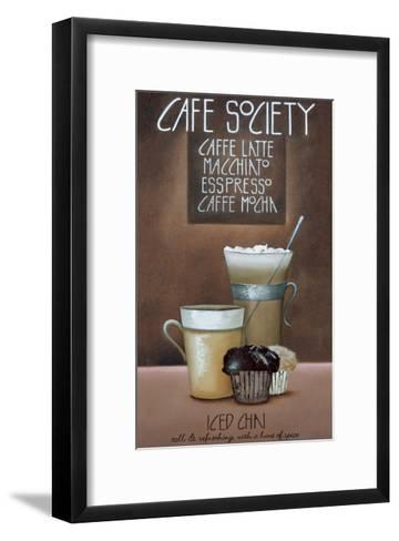 Café Society-Mandy Pritty-Framed Art Print
