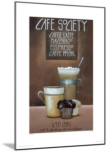 Café Society-Mandy Pritty-Mounted Giclee Print