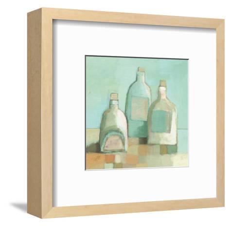 Still Life with Bottles I-Derek Melville-Framed Art Print