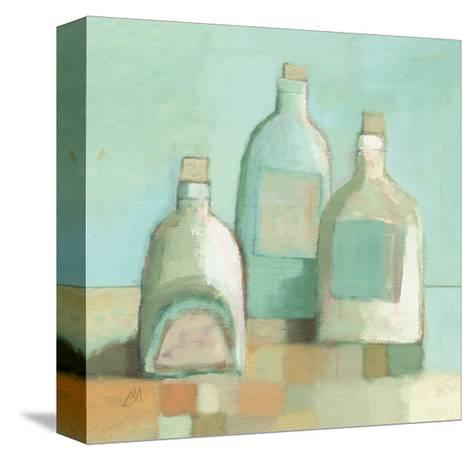 Still Life with Bottles I-Derek Melville-Stretched Canvas Print