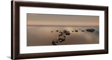 Calm Sea-Ian Winstanley-Framed Art Print