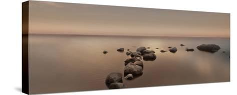 Calm Sea-Ian Winstanley-Stretched Canvas Print