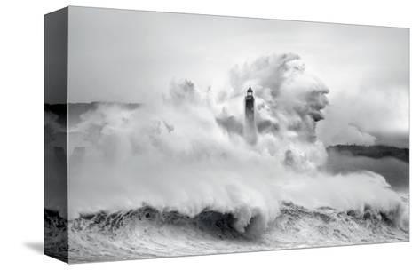 Cantabria Lighthouse I-Marina Cano-Stretched Canvas Print