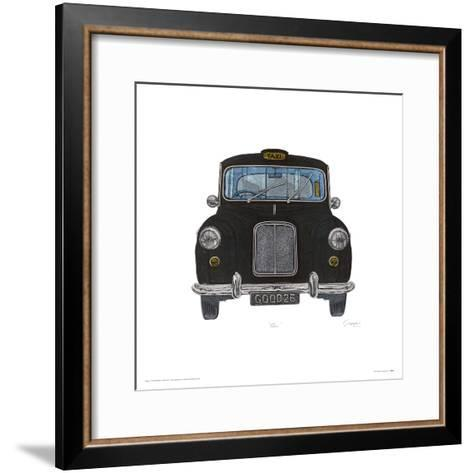 Taxi-Barry Goodman-Framed Art Print