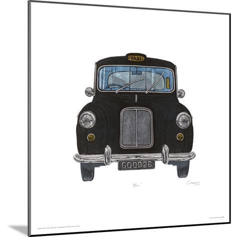 Taxi-Barry Goodman-Mounted Giclee Print