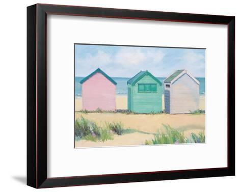 Beach Huts-Jane Hewlett-Framed Art Print