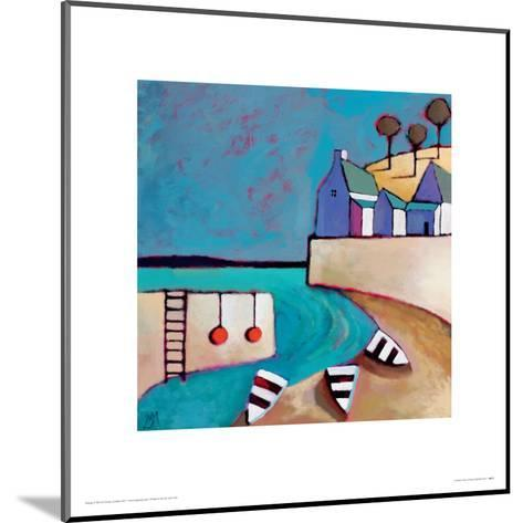 Harbour View-Derek Melville-Mounted Giclee Print