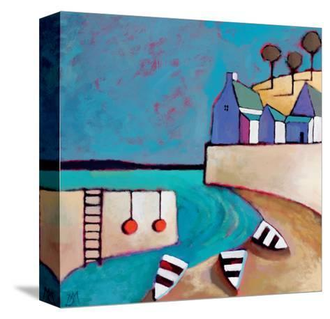 Harbour View-Derek Melville-Stretched Canvas Print