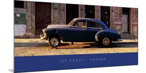 Havana, Cuba II-Lee Frost-Mounted Giclee Print