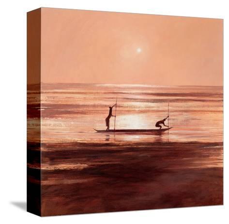 Sinking Sun-Jonathan Sanders-Stretched Canvas Print