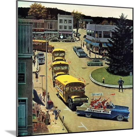 """""""Glenville High Boosters"""", October 31, 1959-Ben Kimberly Prins-Mounted Giclee Print"""