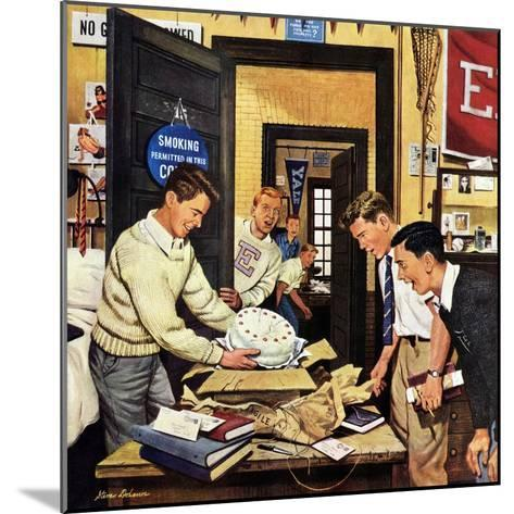"""""""Package from Home"""", February 3, 1951-Stevan Dohanos-Mounted Giclee Print"""