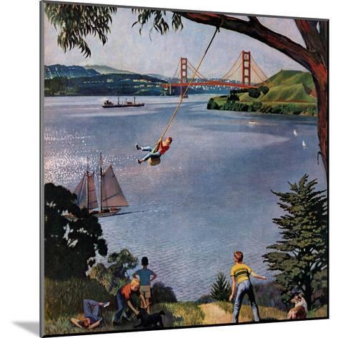 """""""San Francisco Bay Boys"""", May 26, 1956-John Falter-Mounted Giclee Print"""