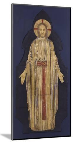 Christ - from a Group of Seven Plaster Bas-Reliefs, for the Park Church, Glasgow-Robert Anning Bell-Mounted Giclee Print