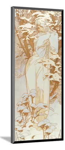Winter-Alphonse Mucha-Mounted Giclee Print