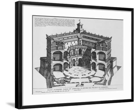 Palazzo Di Caprarola: the Garden of Rome-Giovanni Battista Falda-Framed Art Print
