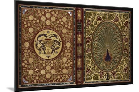 The Rubaiyat of Omar Khayyam.  a Magnificent Jewelled 'Peacock' Binding with 34 Stones and 408…--Mounted Giclee Print