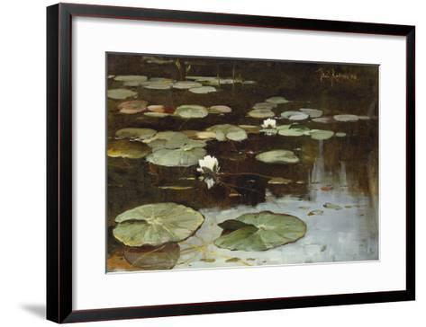 Water Lilies-Julius Sergius Klever-Framed Art Print
