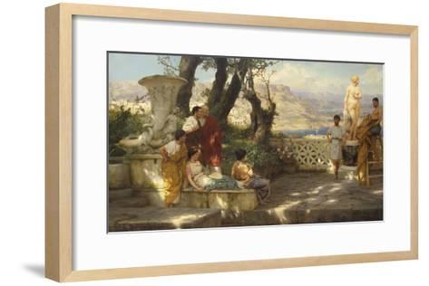 The Connoisseurs-Hendrik Siemiradzki-Framed Art Print