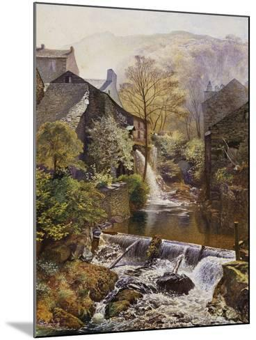 The Old Water-Mill-James Duffield Harding-Mounted Giclee Print