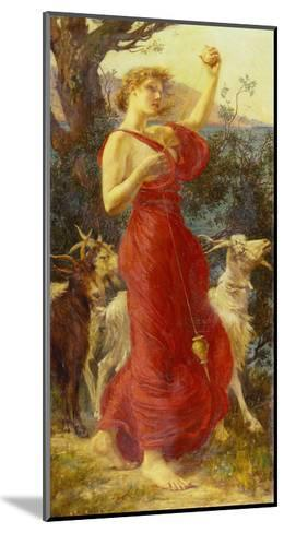 The Goat Girl-Edith Ridley Corbet-Mounted Giclee Print
