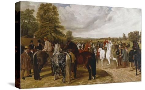 The Horse Fair, Southborough Common-Benjamin Herring I-Stretched Canvas Print