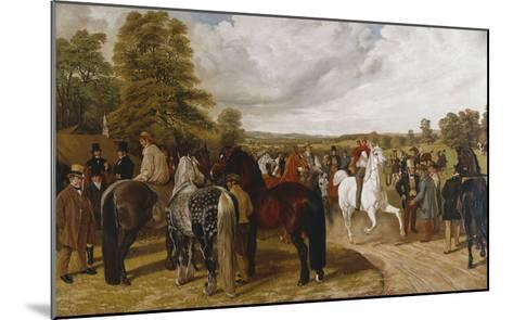 The Horse Fair, Southborough Common-Benjamin Herring I-Mounted Giclee Print
